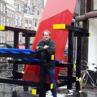 Mondriaan-stoel Utrecht