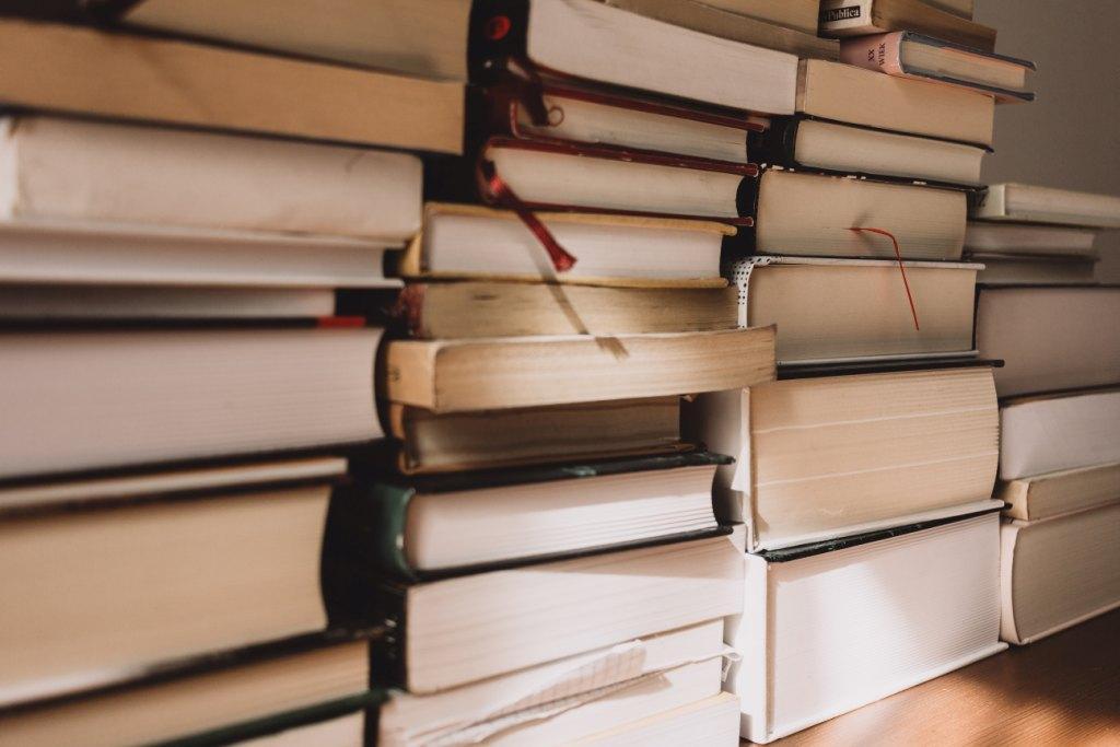 Boeken stapels